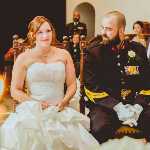 Ceremonie Bruidspaar
